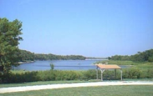 A remote, yet accessible area of Geary State Lake Park.