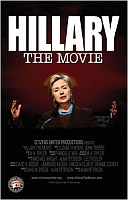 A poster promoting &#8216;Hillary: The Movie.&#8217;