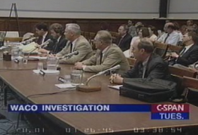 House Oversight Committee holds public hearings on the Waco debacle.