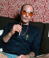 Hunter S. Thompson, in a 1977 photo.