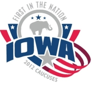 2012 Iowa caucuses logo.