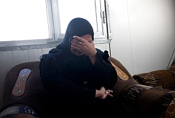 An Iraqi war widow.