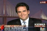 Jack Burkman, in a 2005 appearance on MSNBC.