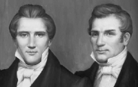 Joseph and Hyrum Smith.