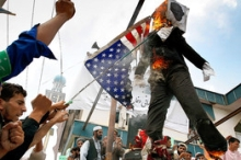 Protesters in Kabul burn Florida pastor Terry Jones in effigy during a protest against Jones's announced plans to burn a Koran on September 11.
