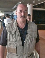 Bernard Kerik in the Green Zone, July 2003.