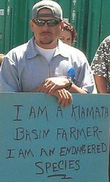 A Klamath River farmer and prospective voter.