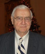 Lester Kinsolving, in a photo taken during a 2007 Christmas celebration at the White House.