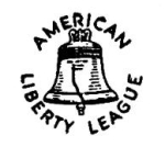 American Liberty League logo.