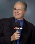 Rush Limbaugh, in a publicity photo from ESPN.