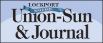 Modern-day logo for the Lockport Union Sun &amp; Journal.