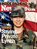 Newsweek cover featuring Jessica Lynch.