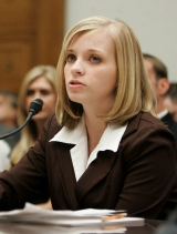 Jessica Lynch testifies before the House Oversight Committee.