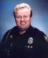 Jack McLamb during his days as a Phoenix, Arizona, police officer.