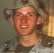 Timothy McVeigh during the time he served in the Army.