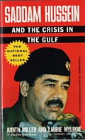 The cover of 'Saddam Hussein and the Crisis in the Gulf.'