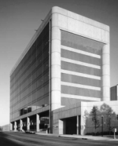 The Murrah Federal Building before the bombing.