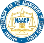 NAACP logo.