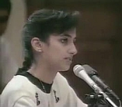 'Nayirah' testifying before Congress.