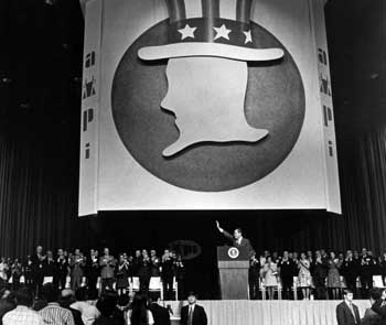 Nixon at AMPI rally and convention, September 3, 1971