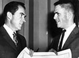Nixon and Haldeman, three days after the June 23 meeting.