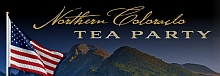 A portion of the Northern Colorado Tea Party logo.