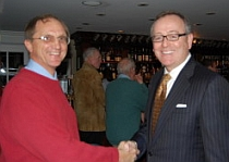 Connecticut State Senate candidates Stuart Norman (left) and Andrew Maynard.