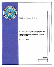 Pentagon &#8216;Nuclear Posture Review.&#8217;