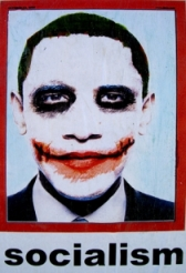 President Obama as 'The Joker.'