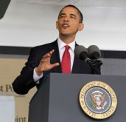 President Obama during his May 22, 2010 speech at West Point.