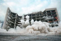 The Murrah Federal Building is demolished.
