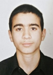 Omar Khadr. The photo, presumably taken in 2001, was given to Canadian reporters by his mother, Maha Khadr, after a 2005 press conference.