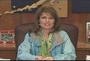 A screenshot of Palin's 2008 address to the Alaskan Independence Party's convention.