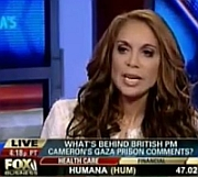 Screenshot of Pamela Geller during an appearance on Fox News.