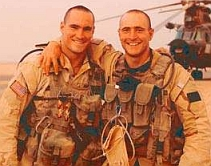Kevin and Pat Tillman.