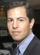 Patrick Guerreiro, the head of the Log Cabin Republicans, whose organization objects to Rick Santorum's rhetoric about homosexuals.
