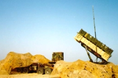 One of the US Army Patriot batteries deployed in Dhahran, Saudi Arabia that destroyed Iraqi Scuds.