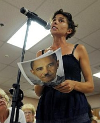 A member of the LaRouche Youth Movement compares the Obama health care reform proposal to Nazi policies.