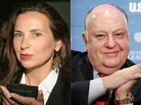 Judith Regan (left) and Roger Ailes.