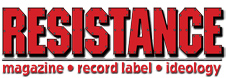 Resistance Records logo.