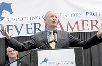 George Pataki speaking at a Revere America event.