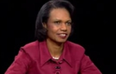 Condoleezza Rice on the Charlie Rose show.