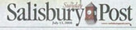 Salisbury Post masthead.