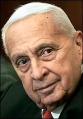 Ariel Sharon, shortly before suffering a stroke.