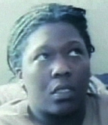 A frightened Shoshana Johnson, photographed by her captors an hour after she was shot and captured by Iraqi fighters.