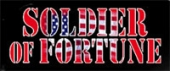 'Soldier of Fortune' magazine logo.