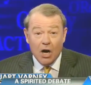 Fox Business Channel host Stuart Varney, appearing on Fox News's 'The O'Reilly Factor.'