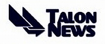 Talon News logo.