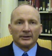 Lieutenant Colonel Terry Lakin, in a screenshot taken from his March 30 statement as recorded on YouTube.