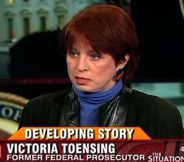 Victoria Toensing.